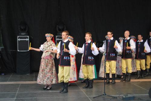 Program Letniego Festiwalu Mniejszości Niemieckiej na terenie byłych Prus Wschodnich 2012