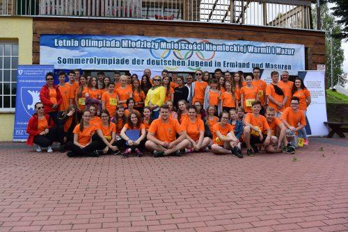5. Sommerolympiade der deutschen Jugend in Ermland und Masuren