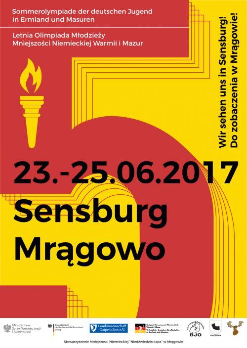 5. Letnia Olimpiada Młodzieży Mniejszości Niemieckiej Warmii i Mazur