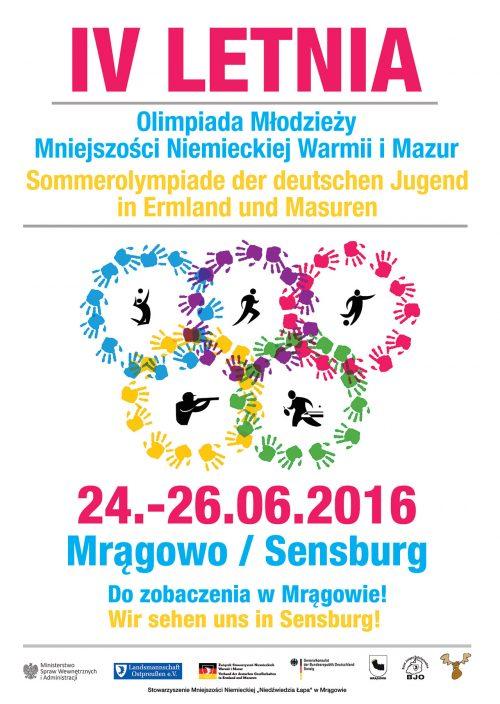 IV. Letnia Olimpiada Młodzieży Mniejszości Niemieckiej Warmii i Mazur