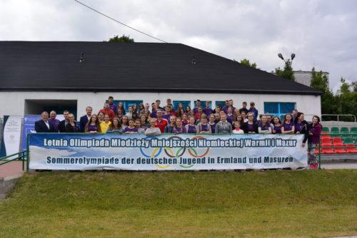 Relacja z VI Letniej Olimpiady Młodzieży Mniejszości Niemieckiej Warmii i Mazur
