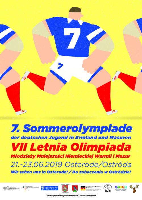VII Letnia Olimpiada Młodzieży Mniejszości Niemieckiej Warmii i Mazur