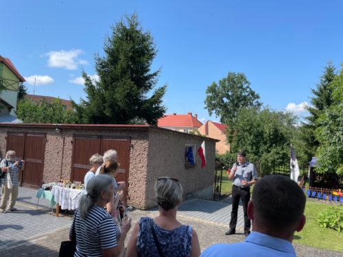 Gołdapski festyn w ogrodzie