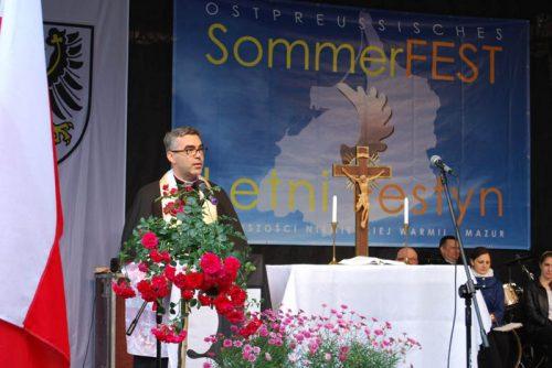 Sprawozdanie z Letniego Festynu Mniejszości Niemieckiej Warmii i Mazur 2014